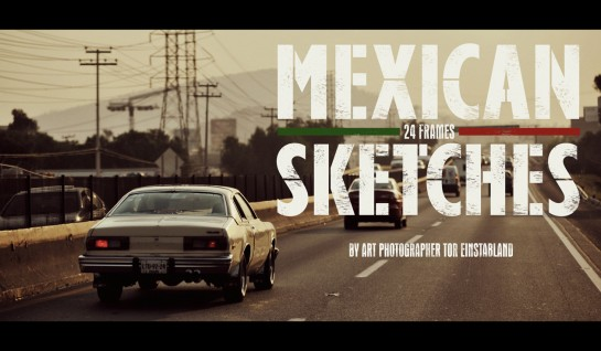 Mexican Sketches - 24 frames