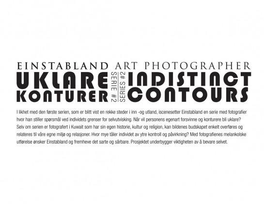 Einstabland_Uklare Konturer_Serie #2_Prosjektbeskrivelse